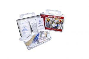 OmniSafe 25-Person First Aid & Wound Care Kit (FAK-0025): Type I, II, III 160-Piece Kit