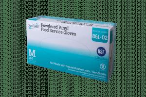 OmniShield #861 NSF Certified Vinyl Powdered Food Service Glove