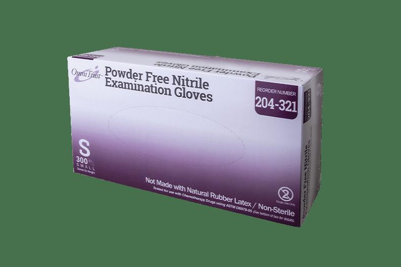 OmniTrust #204 Series Ultimate Nitrile Powder Free LT Examination Glove