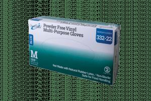 OmniShield #332 Series Blue Vinyl Powder Free Multi-Purpose Gloves