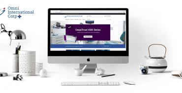 Omni International Corp. new website new brand identity new logo