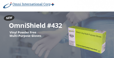 Product Announcement: Introducing Our New #432 Series Gloves Omni International Corp.