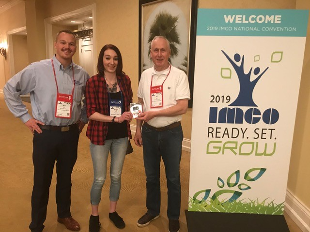 Winner #1: Bridget O'Connor from Mass Surgical Supply (Holyoke, Mass.) with Will Leslie & Art Miller from Omni International Corp IMCO 2019