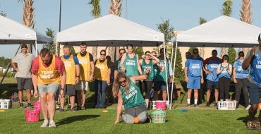 Omni's Will Leslie Participates in IMCO Pentathlon to Benefit Florida Nonprofit Provision Packs Omni International Corp. 2019 IMCO Convention