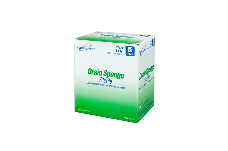 Sterile Drain Sponge