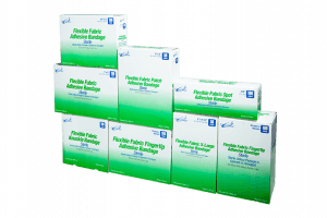 Sterile Fabric Adhesive Bandages