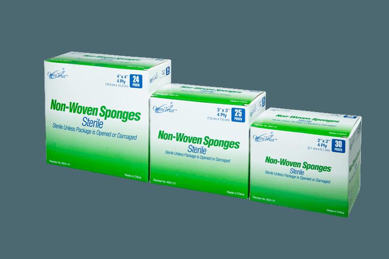Sterile Non-Woven Sponges
