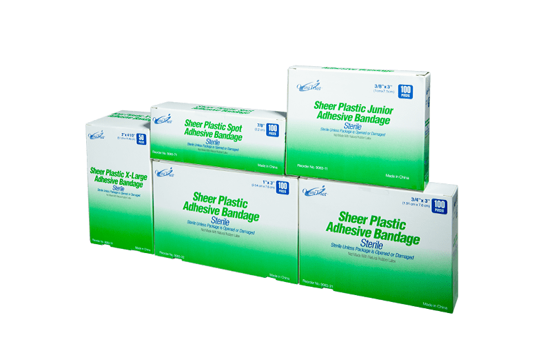 Sterile Sheer Adhesive Bandages