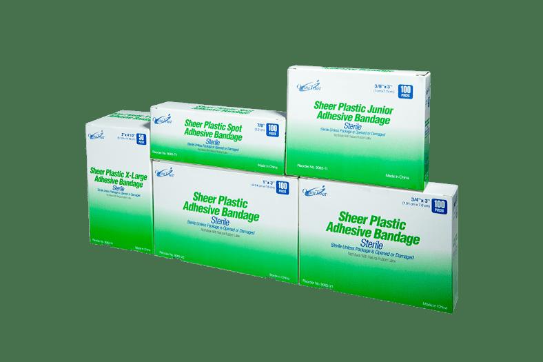 Sterile Sheer Adhesive Bandages
